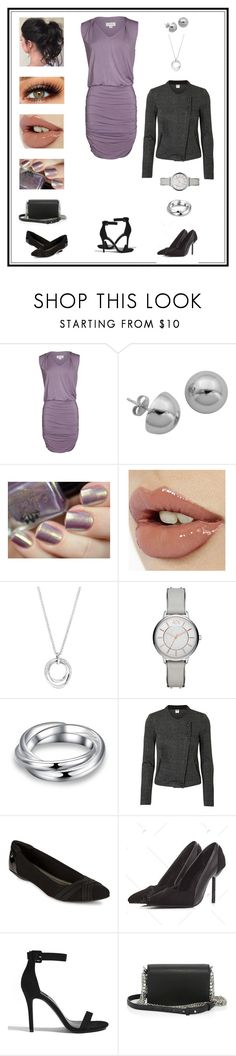"""Untitled # 909"" by binasa87 ❤ liked on Polyvore featuring Velvet by Graham & Spencer, Lord & Taylor, Charlotte Tilbury, FOSSIL, Armani Exchange, Vero Moda, Anne Klein, Forever 21 and Alexander Wang"