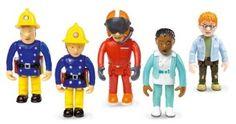 Born to Play FS022 - Born to Play - Feuerwehrman Sam - Set mit 5 beweglichen Figuren: Amazon.de: Spielzeug