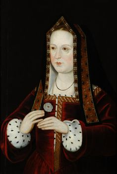 Queen Elizabeth of York (1466–1503), Queen to Henry VII, British (English) School, 16th century.