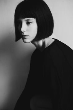 Bnw black and white girl short hair beautiful portrait photography - Bnw black and white girl short hair beautiful portrait photography - Poses, Girl Pose, Portrait Photography, Fashion Photography, Style Outfits, Foto Art, Mi Long, Mannequins, Bob Hairstyles