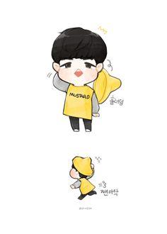 Hello My Love, Say Hello, Ha Sungwoon, Kim Jaehwan, Sanrio, Art Sketches, Seoul, Fangirl, Lord