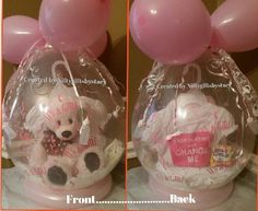 It's a Girl. ....Baby Shower...  Stuffed Gift Balloon \by Niftygiftsbystacy