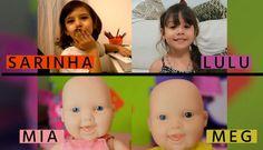 Canal da Lulu, Sarinha, Lilly Doll Parabenizaram a Julia