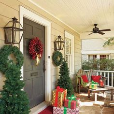 craftsman porch  Photo: Mark Lohman | thisoldhouse.com | from Making a Vintage Cottage Her Own