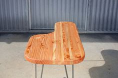 Butcher block coffee table kidney table made with by NickRother