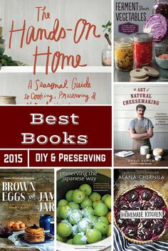 Best DIY Food Books
