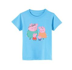 Peppa Pig TShirt for children  available in many by SoorDesign, €13.00