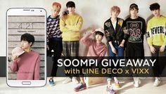 "Exclusive: Download VIXX Mobile Theme + Win ""Boys' Record"" Autographed Album!   Soompi"