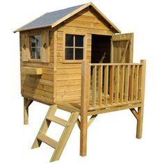 1000 images about cabane en bois on pinterest wooden outdoor playhouse pa - Leroy merlin cabane enfant ...