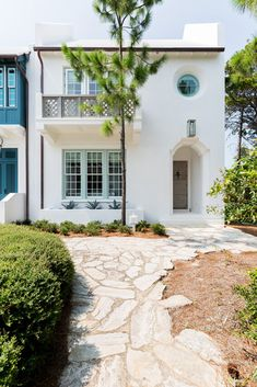 Building Concept, Mediterranean Architecture, Farmhouse Landscaping, Small Master Bedroom, Exterior Paint Colors, Outdoor Living, Outdoor Decor, Interior Photography, Santa Barbara