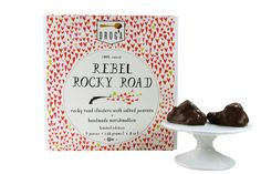 rebel rocky road chocolates.