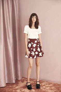 """titty&Co.さんのツイート: """"【NEW ARRIVAL】 #BIGフラワースカート ¥6,900 ベージュ ブラック レッド ▸https://t.co/wjvIP7Q5It…"""
