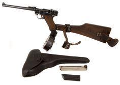 Deactivated 1917 Dated DWM Artillery Luger
