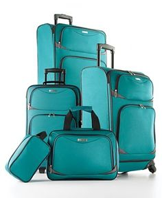 Ladies! Perfect luggage for your beach or cruise vacation. If that beautiful blue color doesn't get you in the mood to relax, nothing will!    www.expresspassport.com