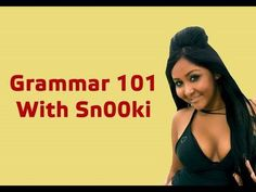 Grammar School with Snooki (as shared with me by one of my students) WORTH THE VIEW