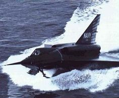 Seadart jets and water?  .  .  This experimental did not work out as practical.