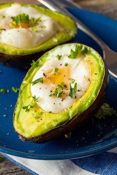 Paleo Avocado Eggs