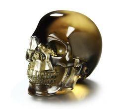 Smokey/Smoky Quartz Rock Crystal Crystal Skull