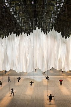 Ann Hamilton's The Event of a Thread installation- New York