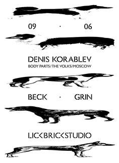 Poster for Lick Brick Studio