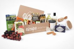 20 of the Best Subscription Boxes for Foodies via Brit + Co