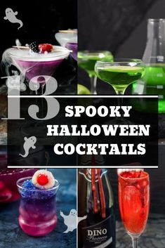 From witches to vampires and Harry Potter to Black Widow, get ready to entertain. - From witches to vampires and Harry Potter to Black Widow, get ready to entertain your guests with t - Spooky Halloween, Halloween Bebes, Classy Halloween, Halloween Snacks, Vintage Halloween, Halloween Party, Easy Halloween Cocktails, Halloween Coctails, Halloween Halloween