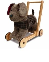 Percy Pup Push Along Child Gift Ideas Animals Walking Toys  Buy online at www.jinneyring.co.uk
