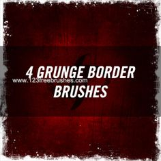 Grunge Border 3 - Download  Photoshop brush https://www.123freebrushes.com/grunge-border-3-2/ , Published in #GrungeSplatter. More Free Grunge & Splatter Brushes, http://www.123freebrushes.com/free-brushes/grunge-splatter/ | #123freebrushes