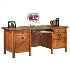 Anthony Lauren Craftsman Home Office Computer Desk