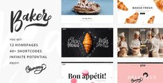 Baker - A Fresh Theme for Bakeries, Cake Shops, and Pastry Stores - Food Retail