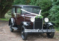 Ford Model A vintage car...