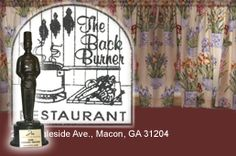 The Back Burner Restaurant Macon GA....You have got to try this restaurant to believe it!