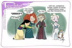 Pocket Princesses No. Upgrades by Amy Mebberson Pocket Princesses No. Upgrades by Amy Mebberson Pocket Princesses, Pocket Princess Comics, Disney Princess Cartoons, Disney Jokes, Funny Disney Memes, Disney Facts, Disney Cartoons, Disney Pixar, Disney Fan Art