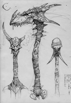3d Model Character, Character Design, Drawing Cartoon Faces, Sword Drawing, Sword Design, Cosplay Weapons, Geniale Tattoos, Weapon Concept Art, Fantasy Weapons