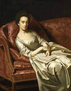 Portrait of a Lady, John Singleton Copley, 1771