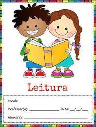 Capa Caderno De Leitura Colorido Pesquisa Google Caderno De