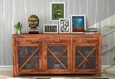Kerry #Sideboard (Teak Finish) available online at Wooden Street. Shop for a wide range of new and classic #bedroom #cabinets online and give royal look to your home and complement the rest of your furniture. Visit : https://www.woodenstreet.com/bedroom-cabinets Get stylish #Bedroom #Cabinets #Online in #Ahmedabad #Bangalore #Bhopal #Chandigarh #Chennai #Coimbatore #Delhi #India