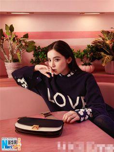 Guli Nazha poses for fashion shoot | China Entertainment News