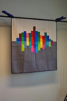 judges' choice winner - solids challenge, Ann Arbor Modern Quilt Guild - natalie of greenleaf goods