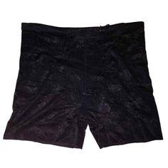 5f748791857 New Black Ladies Shorts 8 - 10 Light tummy control panel floral shorty  pants  fashion