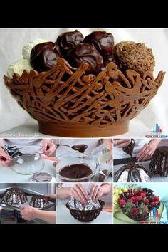 Chokoladeskål..