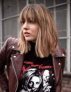 lizzy hadfield hair cut and colour