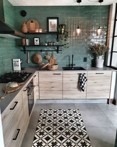 28 Trendy Boho Kitchen Decor Ideas to Give Your Space New Life - Betherelove Kitchen Interior, Home Decor Kitchen, Interior, Cozy House, Kitchen Decor, Home Decor, House Interior, Home Kitchens, Kitchen Design