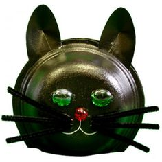 Bricolage chat pour l'Halloween