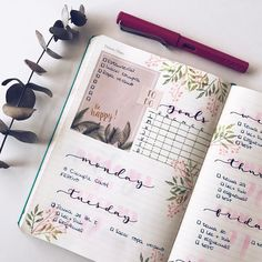 "2,058 Likes, 17 Comments - Bullet Journal & Studygram (@mylittlejournalblog) on Instagram: ""Planning time✍"""