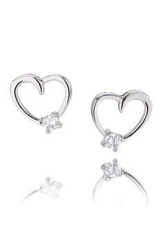Kolczyki z kolekcji ALL ME. #Bydziubeka #jewelry #earrings #elegant #woman #style Woman Style, Elegant Woman, Heart Ring, Earrings, Silver, Jewelry, Ear Rings, Stud Earrings, Jewlery