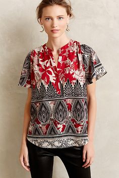 Maritsa Blouse #anthropologie #anthrofave