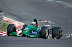 The Jordan 191 is considered one of the most beautiful Formula 1 cars in history.