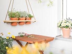 Tutorial DIY: Zbuduj wiszący ziołowy ogródek przez DaWanda.com