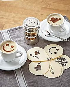 Cool Coffee Stencils